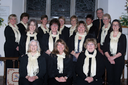 Belles of St Martins, Ellisfield. (Click to see larger image ...)