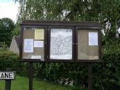 Lower Common Village Notice Board