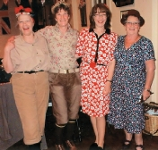 Ladies Club - Four 40's Girls! (Meg, Julia, Tracey & Maggie)